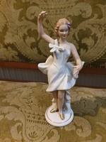 Ritkább Wallendorf táncosnő, balerina