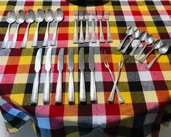 Csodás 6 személyes BRUCKMANN&SOHN 800-as Ezüst étkészlet