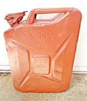 1944-es W D 20 literes angol katonai benzines kanna