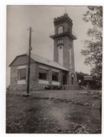 Pécs Kiss József kilátó Misina tető (lebontották) ca 1930