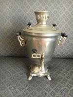 Retro, működő szamovár- teázóba, kávézóba remek dekoráció