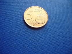 CIPRUS 5 EURO CENT 2012! KECSKE! ! UNC! RITKA!