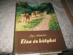 Joy  Adamson  : Elza és kölykei   1966  . 292 oldalon