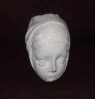 János mester:Női fejes gyámkő, a múzeumi darab tökéletes másolata!