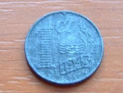 HOLLANDIA 1 CENT 1943 ZINC #