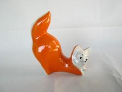 Orosz porcelán róka