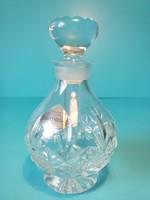 Edinburgh crystal continental made in hungary jelzéssel kristály parfümös üveg