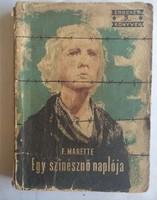 Marette: egy színésznő naplója, ajánljon!