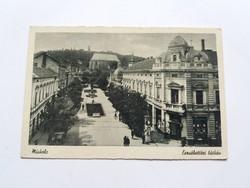 Miskolc Erzsébet téri látkép 1950.