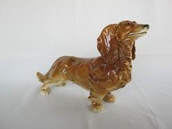ENS porcelán nagy méretű tacskó kutya