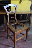 Nagyon szép formájú biedermeier szék