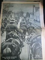 KÉPES VASÁRNAP  ÚJSÁG HORTHY II. VILÁGHÁBORÚ HITLER 1940 SOK NEM ISMERT KÉPPEL