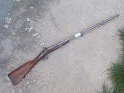 Duplacsövű csappantyús vadászpuska 2, damaszk cső