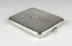 0Z900 Régi ezüst cigaretta tárca dózni 130g