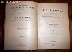 Lanciani Rudolf: A régi Róma 1894.