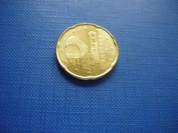ANDORRA 20 EURO CENT 2014! UNC! RITKA!