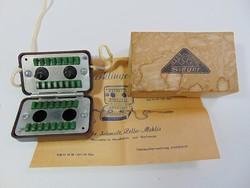 Sieger régi német borotva penge élező, eredeti dobozában - Gebr Schmidt