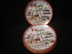Antik JAPÁN  Porcelán Kínáló hibátlan Tálka,4db
