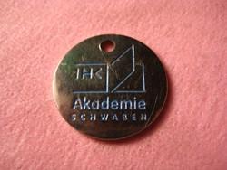 IHK . Akademia  Schwaben    zseton   23 mm