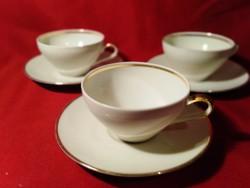 1226 3 db Bavaria Winterling csésze alátét tányérral