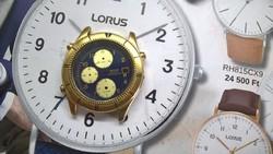 Seiko chronograph tok és számlap, nagyon szép