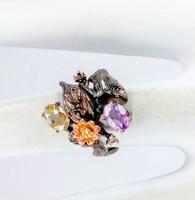 Amethyst köves gyűrű