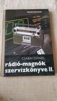 Rádió-magnók szervízkönyve II. eladó!