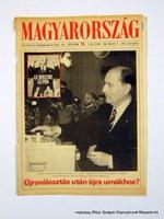 1988 május 13  /  MAGYARORSZÁG  /  Régi ÚJSÁGOK KÉPREGÉNYEK MAGAZINOK Szs.:  14742