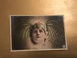Csodás szecessziós képeslap 1903-ból !