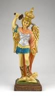 1A374 Szent Mihály arkangyal műgyanta szobor 21 cm
