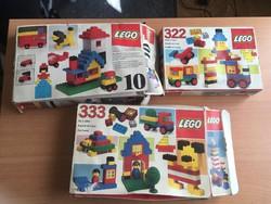 3 doboz Lego 1981-ből