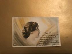 Szecessziós stílusú képeslap 1903