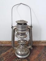 Retro alumínium lámpás  37 cm