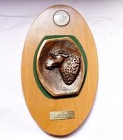 Farmer Expó 2001,Juhtenyésztés I.díj bronz plakett.