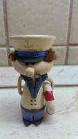 Fa kis szobor, tengerész eladó!