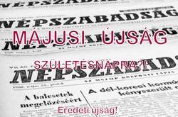 1969 május 23  /  NÉPSZABADSÁG  /  Régi ÚJSÁGOK KÉPREGÉNYEK MAGAZINOK Szs.:  12257