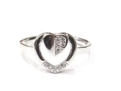 Ezüst női gyűrű (Szeg-Ag84968)
