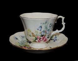Royal Albert nagyon szépséges harangvirágos, nyuszikás TEÁS szépség