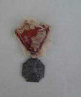 """I. vh-s Károly csapatkereszt 1916. """"Vitam et Sangvinem"""" katonai kitüntetés"""