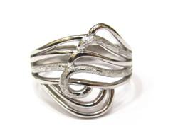 Ezüst női gyűrű (Szeg-Ag84945)