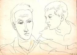 Vinkler László (1912-1980): Fiatalok, 1960-as évek
