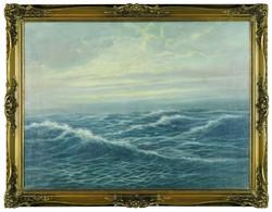 S. Jensen jelzéssel : Hullámzó tenger