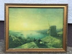 Ivan Ajvazovszkij tájkép nyomat