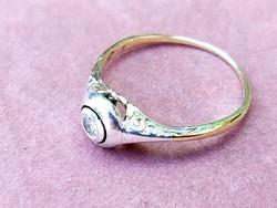 Antik  arany  gyűrű/brill