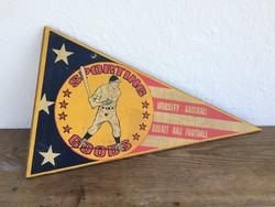 Retro régi baseball reklám festett fa tábla reklámtábla USA