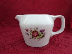 Hollóházi porcelán kávéfőző kiöntő. Sorszáma: 215. Fedél hiány
