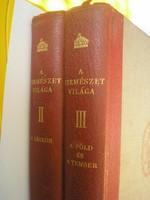Természet világa 1939 2 kötet ritkaság légkör,föld,tenger