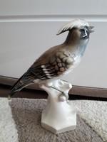 Német porcelán madár