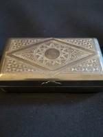 Régi kártyatartó doboz