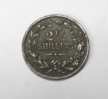 2 1/2 shilling token.